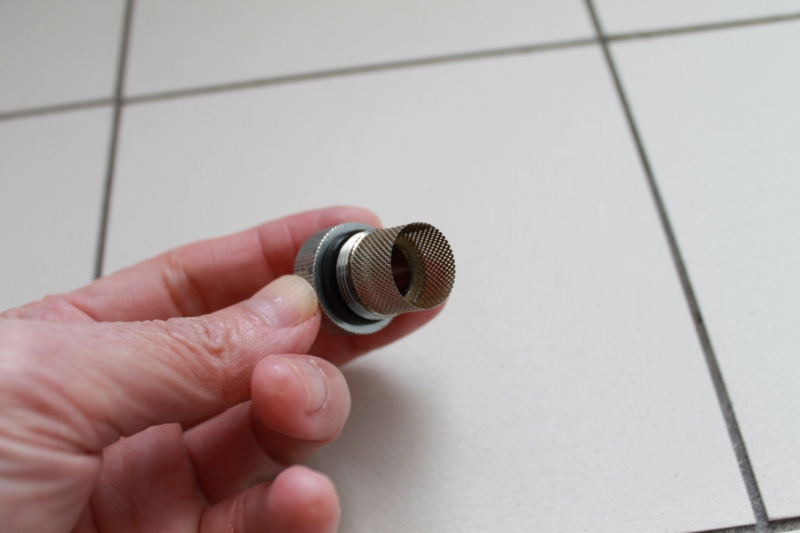 混合栓のフィルター